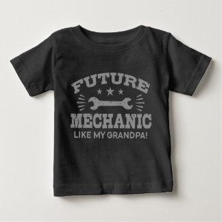 Future Mechanic Like My Grandpa Baby T-Shirt