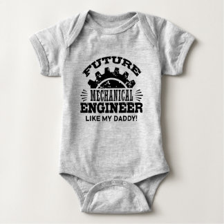 Future Mechanical Engineer Like My Daddy Baby Bodysuit