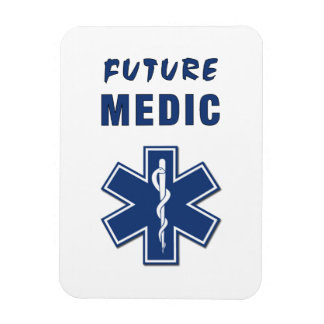 Future Medic Rectangular Photo Magnet