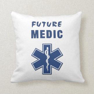 Future Medic Throw Pillow