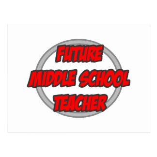 Future Middle School Teacher Postcard