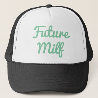 Future Milf Mint Trucker Hat