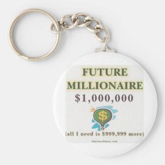 Future Millionaire Keychain