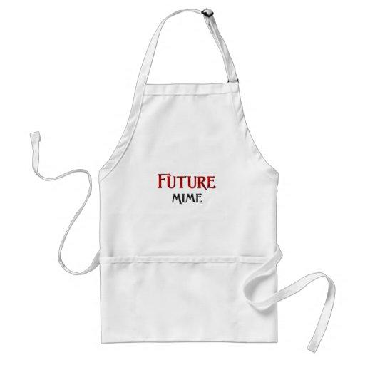 Future Mime Aprons