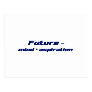 Future = Mind x Aspiration Postcard