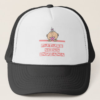 Future Miss Indiana Trucker Hat