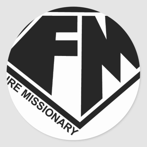 Future Missionary Products Classic Round Sticker