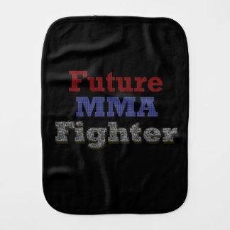 Future MMA Fighter burp cloth