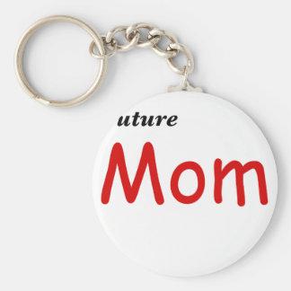 Future Mom Keychain