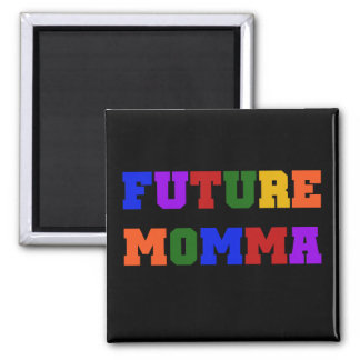 Future Momma Tshirts and Gifts 2 Inch Square Magnet