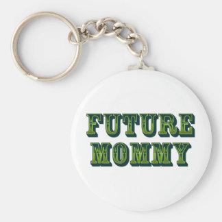 Future Mommy Keychain