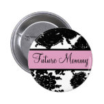 Future Mommy Pinback Buttons