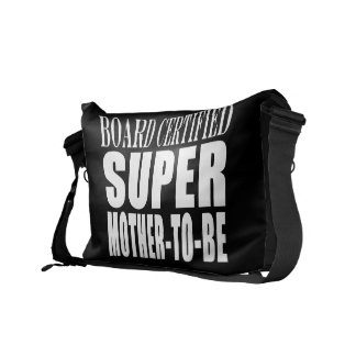 Future Moms Funny Baby Showers Super Mother to Be Messenger Bag