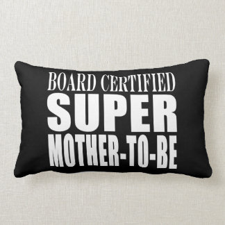 Future Moms Funny Baby Showers Super Mother to Be Throw Pillow