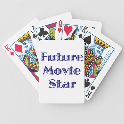 Future Movie Star Bicycle Card Decks