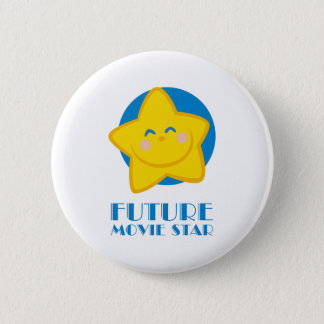 Future Movie Star Pinback Button