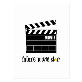 Future Movie Star Postcard