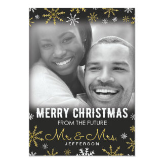 Future Mr. and Mrs. Christmas Holiday Card