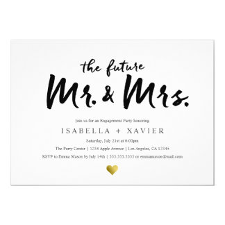 Future Mr. & Mrs.| Engagement Party Invite