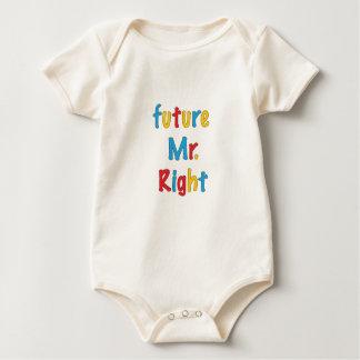 Future Mr. Right Baby Bodysuit