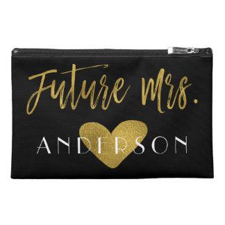 Future Mrs. Be Bachelorette Party Survival Kit Travel Accessory Bag