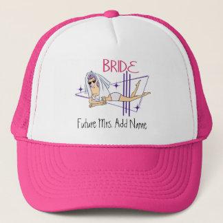 Future Mrs. Beach Bride Trucker Hat