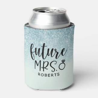 Future Mrs. Bridal Shower Can Cooler
