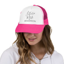 Future Mrs. Bridal Shower or Bachelorette Party Trucker Hat