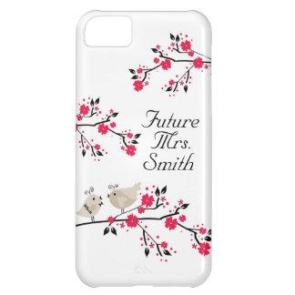 Future Mrs. Bride To Be Wedding Birds iPhone 5C Case