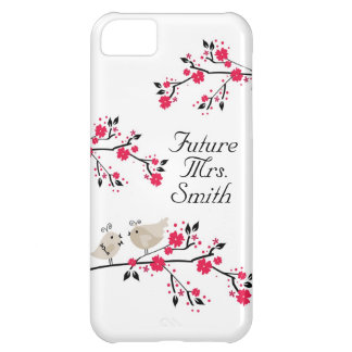 Future Mrs. Bride To Be Wedding Birds iPhone 5C Cover