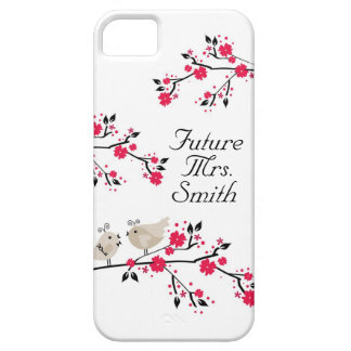 Future Mrs. Bride To Be Wedding Birds iPhone SE/5/5s Case