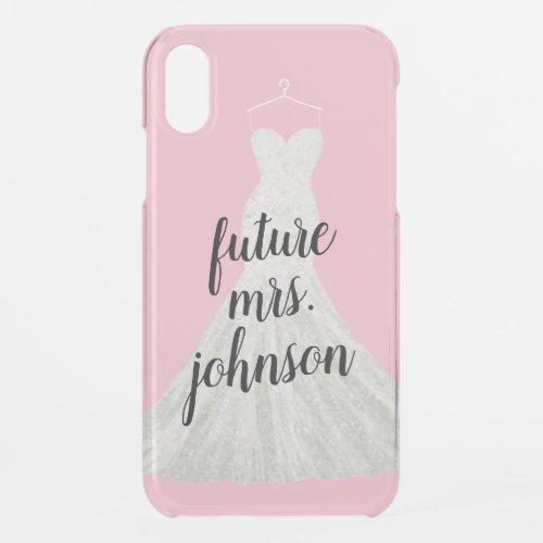Future Mrs. Bride Wedding Dress | Pink