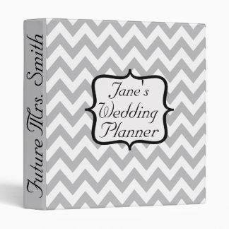 Future Mrs. Chevron Wedding Planner Binder