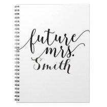 Future Mrs. Custom Wedding Planning Notebook