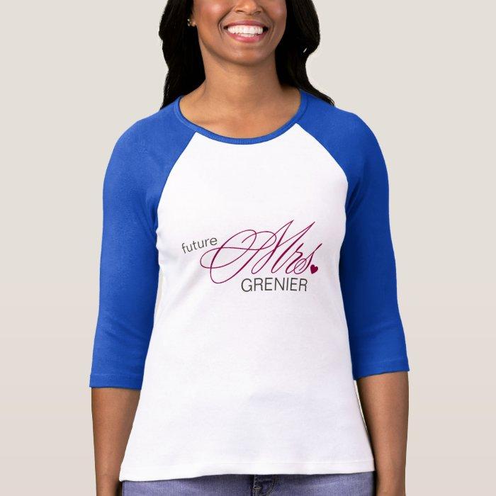 Future Mrs. Customizable T-Shirt
