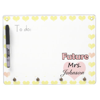 Future Mrs. Dry Erase Whiteboard