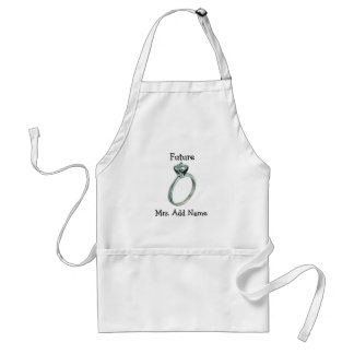 Future Mrs. Gifts and Tees Adult Apron