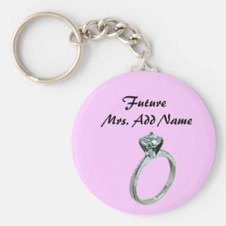 Future Mrs. Gifts and Tees Basic Round Button Keychain