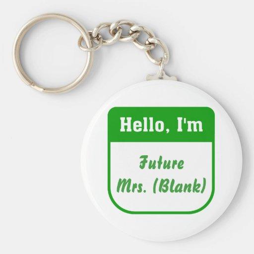 Future Mrs. Keychain - Personalized