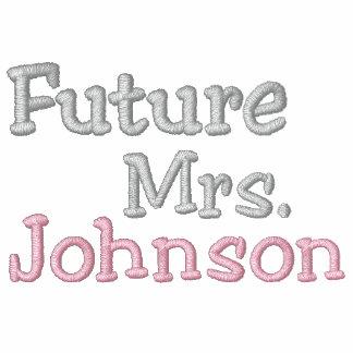 Future Mrs. Name Embroidered Polo Shirt
