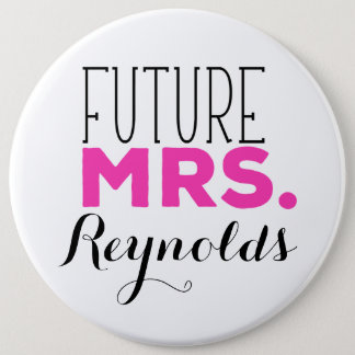 Future Mrs Pinback Button