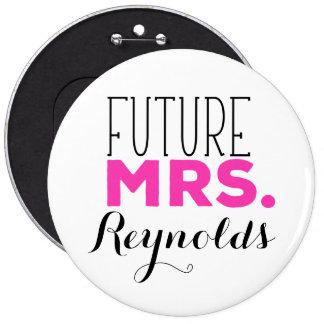 Future Mrs Pinback Button