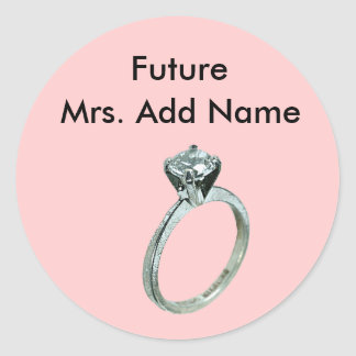 Future Mrs Stickers