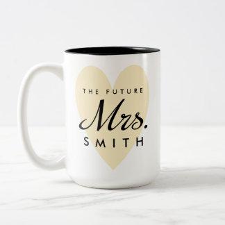 Future Mrs. Two-Tone Coffee Mug