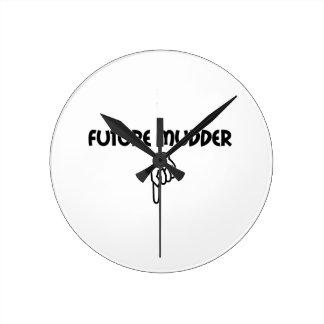 Future Mudder Wallclock