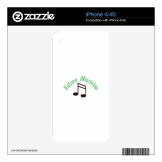 Future Musician iPhone 4 Skin