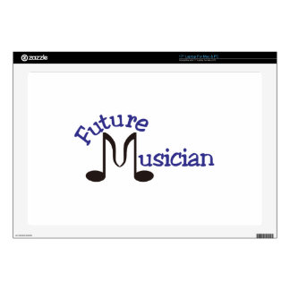"""Future Musician Decals For 17"""" Laptops"""