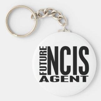 Future NCIS Agent Basic Round Button Keychain