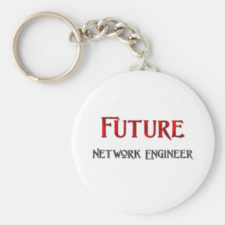Future Network Engineer Keychain