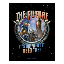 "Future: Not What it Used to Be (16x20"") Poster"